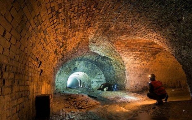 Опубліковано фото підземної річки Києва
