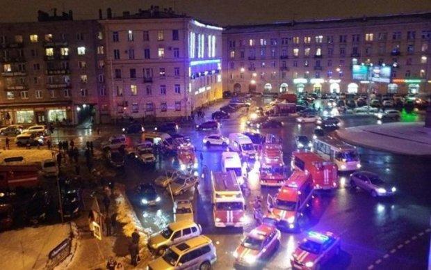 Взрыв в Санкт-Петербурге: террорист попал в объективы камер