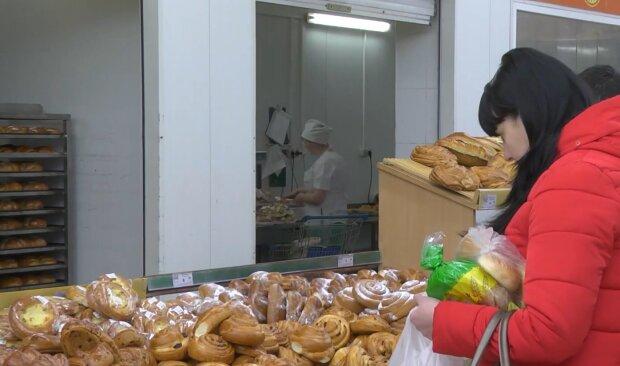 Цена на хлеб, кадр из видео