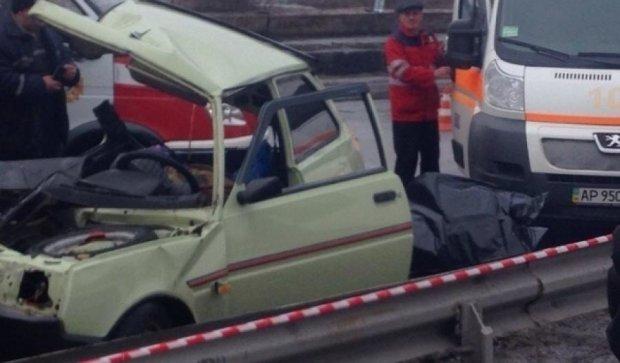 Смертельна ДТП в Запоріжжі: Таврія протаратила маршрутку