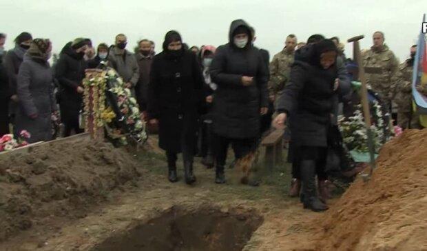 Похороны Ярослава / скриншот из видео