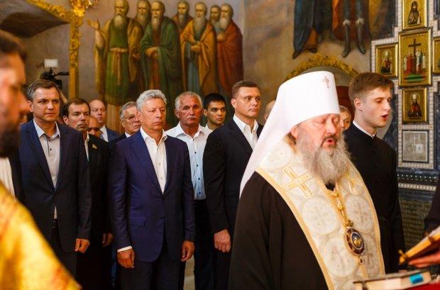 В Киево-Печерской Лавре состоялся молебен за мир