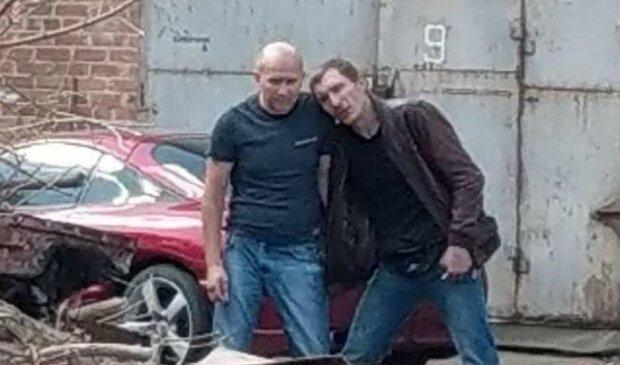 Полтавский террорист (справа), фото: полиция Полтавской области