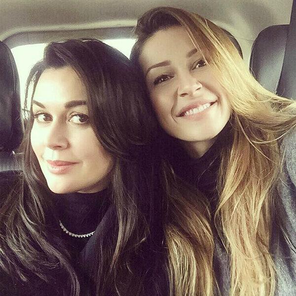 Анастасия Заворотнюк с дочерью, фото Instagram