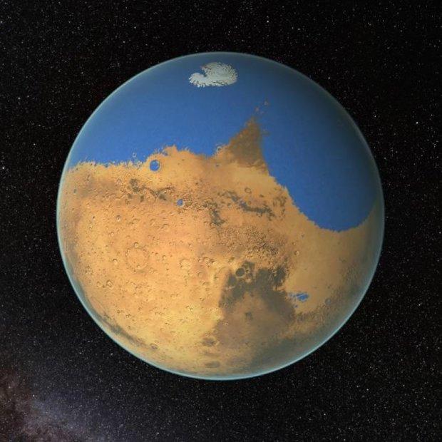 Марсіанський океан випарувався в космос