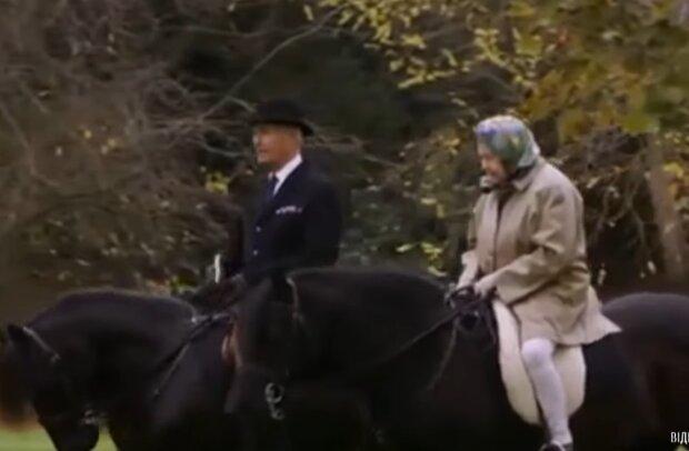 Єлизавета II, скріншот з відео