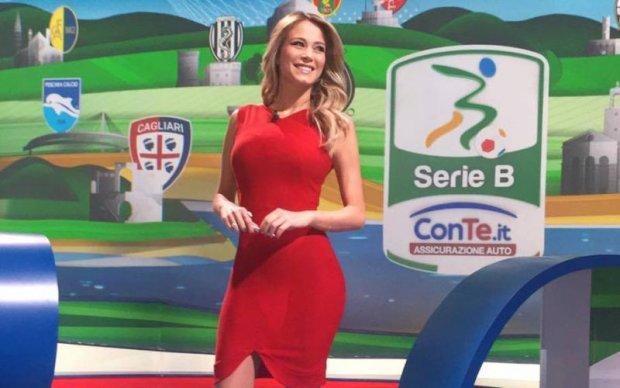 Ведуча, заради якої варто дивитись чемпіонат Італії з футболу