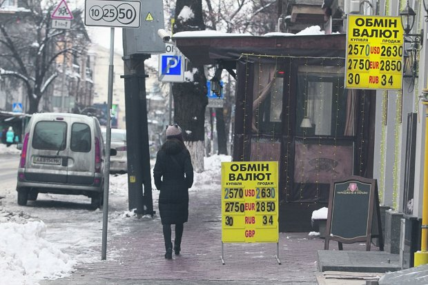Курс валют на 28 февраля: евро прижал гривну к стенке