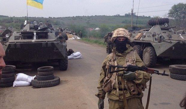 Сутки в АТО: один военный погиб, 16 ранены