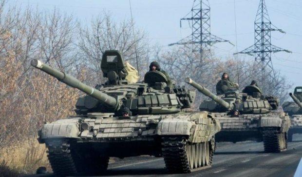 Терористи обстріляли Гранітне з танків