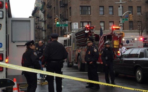 Центр Нью-Йорка содрогнулся от взрыва