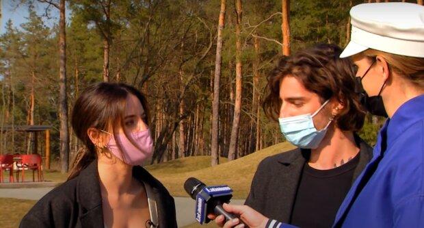 Дорофеева и Дантес, скриншот: Youtube