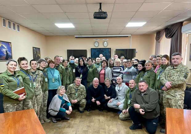 """Квартал 95"" на Донбассе, фото: Facebook"