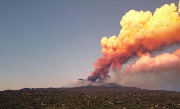 Вулкан Етна / фото: соцмережі