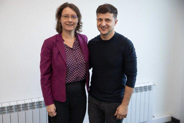 Встреча Владимира Зеленского с послом Франции в Украине Изабель Дюмон