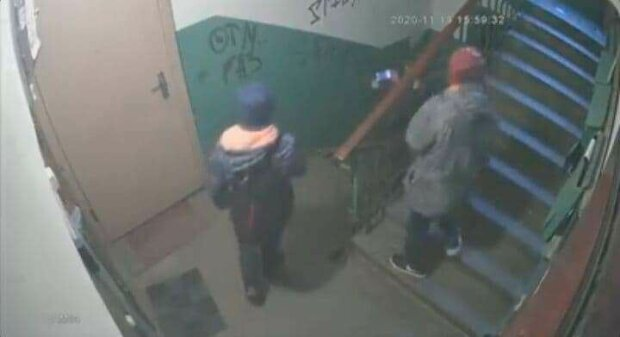 Вандали-школярі, фото: скріншот з відео