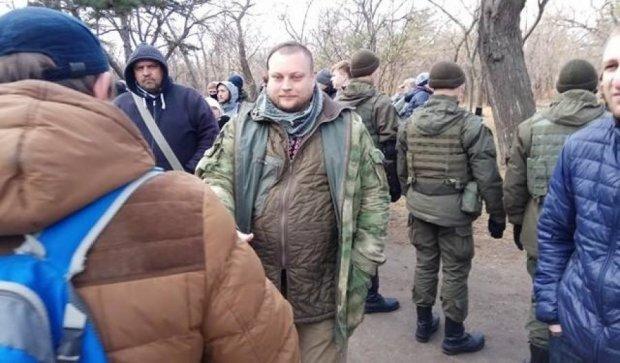 В Одессе эвакуировали людей из-за 23 февраля