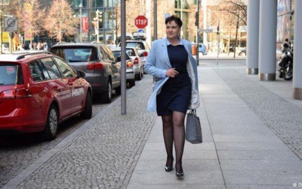 Савченко сменила имидж и двинула на Берлин
