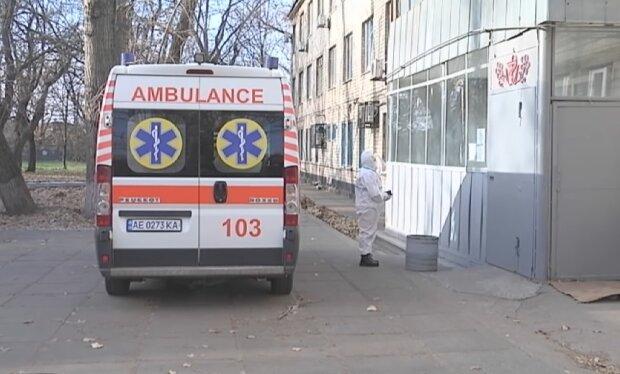 Швидка допомога, скріншот із відео