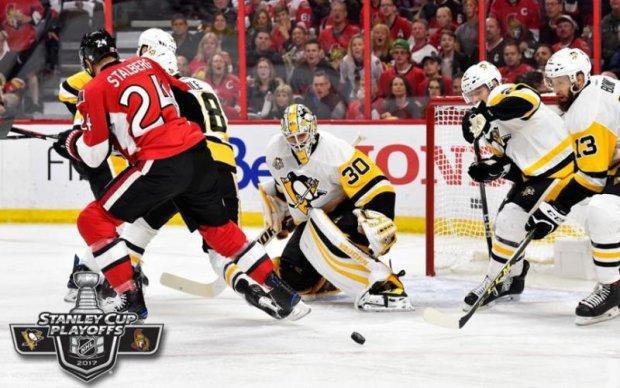 НХЛ: Пітсбург переміг Оттаву, зрівнявши рахунок у серії