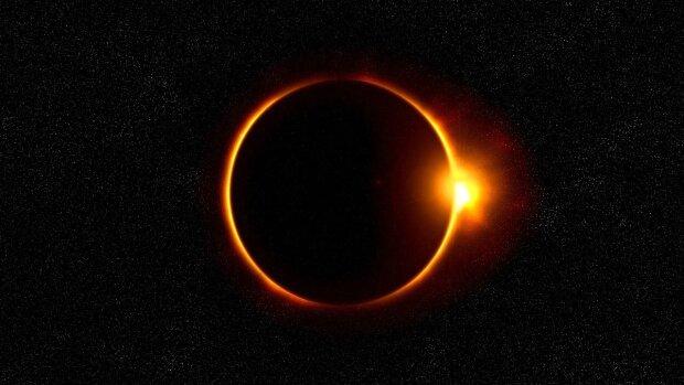 Кільцеподібне сонячне затемнення, фото з відкритих джерел