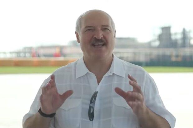 Александр Лукашенко, скриншот из видео