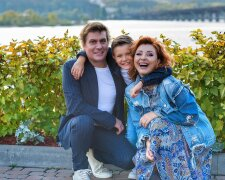 Степан Казанин с семьей