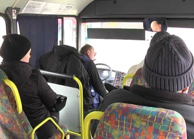 """У Дніпрі бидло-маршрутник накинувся на пасажирів з кулаками - """"пі**уйте на тролейбус"""""""