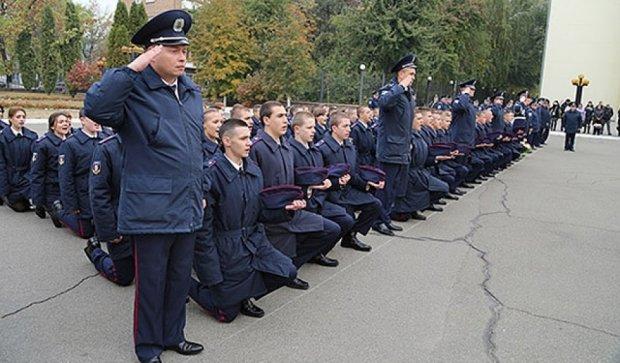 Першокурсники столичного юрліцею присягнули на вірність Україні (фото)