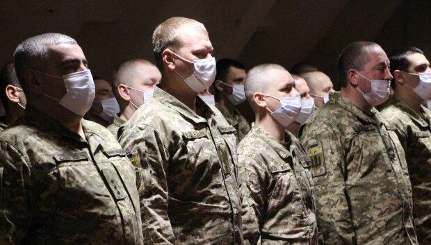 украинские военные, фото facebook.com/pressjfo.news