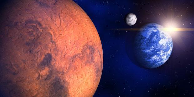 В сеть попали фото первой колонии землян на Марсе