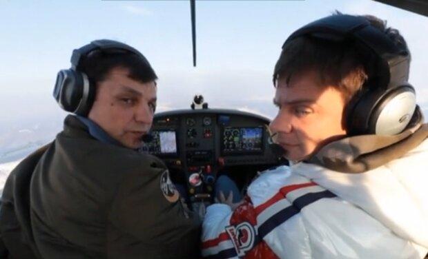 Игорь Табанюк и Дмитрий Комаров, кадр из видео