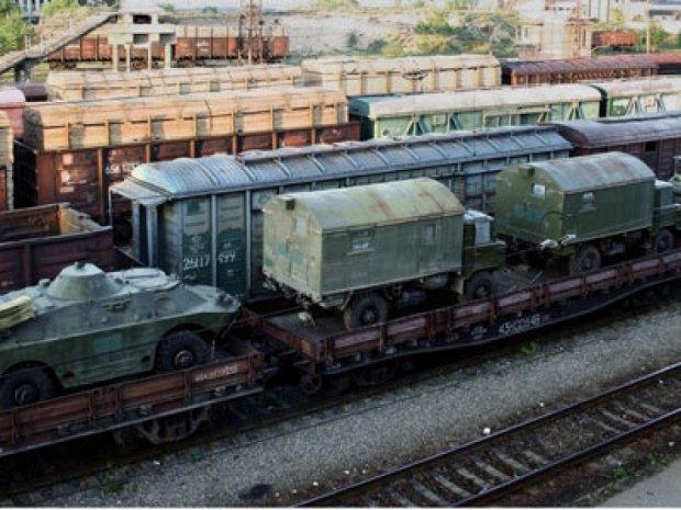 Терористи отримали 16 вагонів боєприпасів від РФ