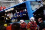ДТП в Китаї, скріншот з відео
