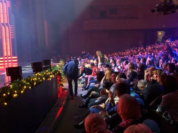 Концерт-запис Новорічного Вечірнього Кварталу, фото Знай.ua
