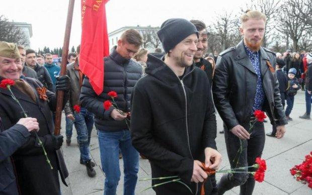 Екс-капітан збірної України засвітився з георгіївською стрічкою в Росії