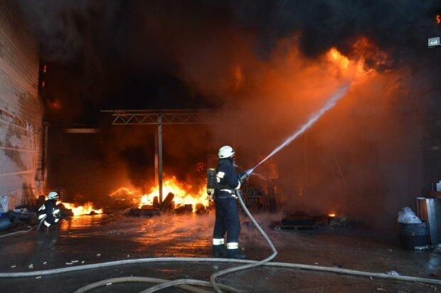 В Харькове новогодний корпоратив закончился пожаром: сожгли Снегурочку вместе с елкой