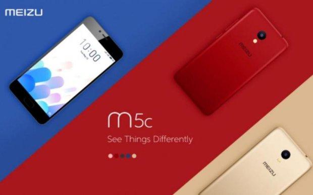 Meizu m5c представили официально