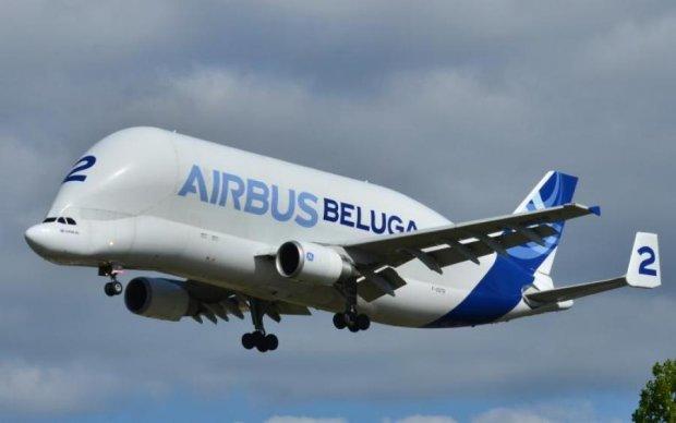 Крупнейший в мире самолет превратился в огненный шар прямо в небе