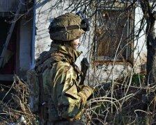 Обстрелы на Донбассе, фото: прессцентр ООС