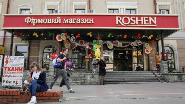 В Киеве полыхает второй магазин Roshen за день