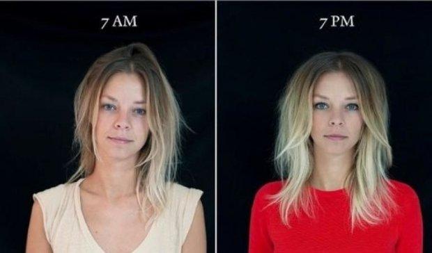 Фотограф показала метаморфози людини протягом доби