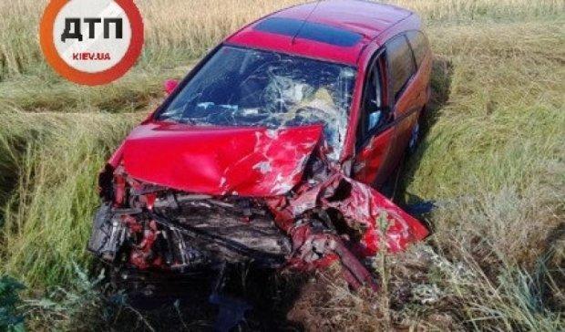 В жуткой аварии погибла женщина с ребенком