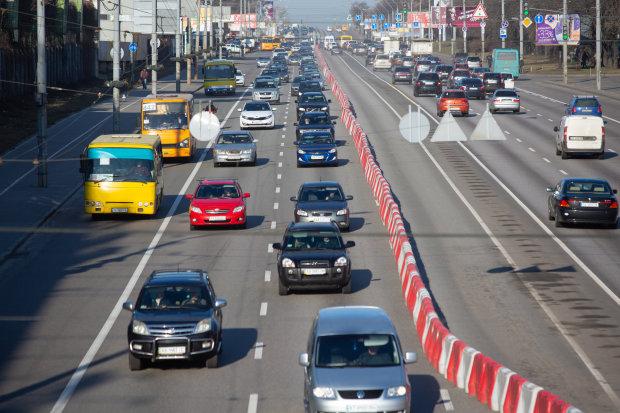 """Киев парализован, машины """"играют"""" в тетрис: какие улицы лучше объехать"""