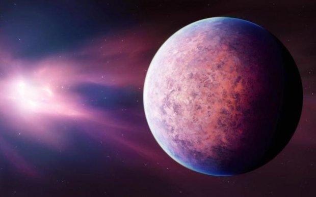 Земля была розовым шариком до зарождения жизни