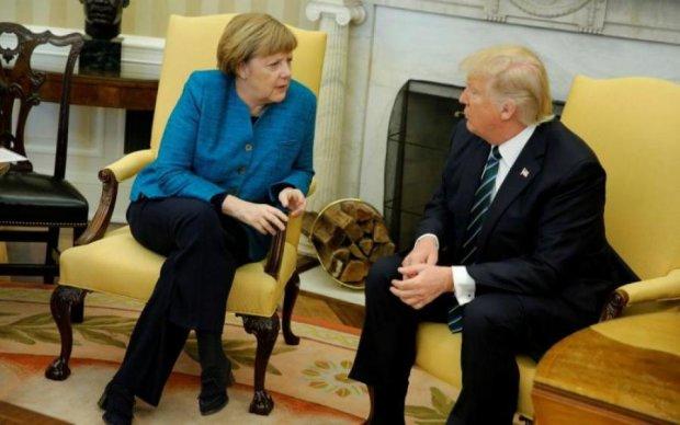 Трамп и Меркель обсудили Украину: что известно на данный момент