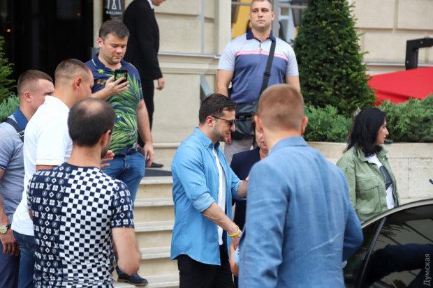 """Зеленський в Одесі показав, чим відрізняється від Порошенка: """"Таке враження, ніби його не було"""""""