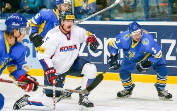 Чемпионат мира по хоккею: Украина уступила Южной Корее в серии буллитов