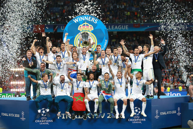 """Мадридський """"Реал"""" виграв Лігу Чемпіонів в сезоні 2017/2018"""