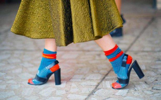 Шкарпетки в моді при будь-якій погоді: як і під що носити